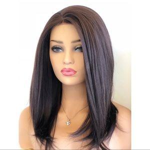 "16"" Dark Brown Lace Front Wig   Alexa"